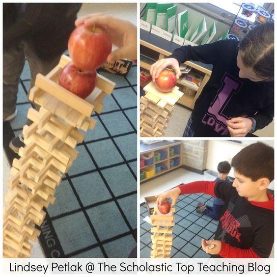 Best Stem Challenge Ever: Ten Apples Up On Top STEM Challenge! Kids Had To Build S