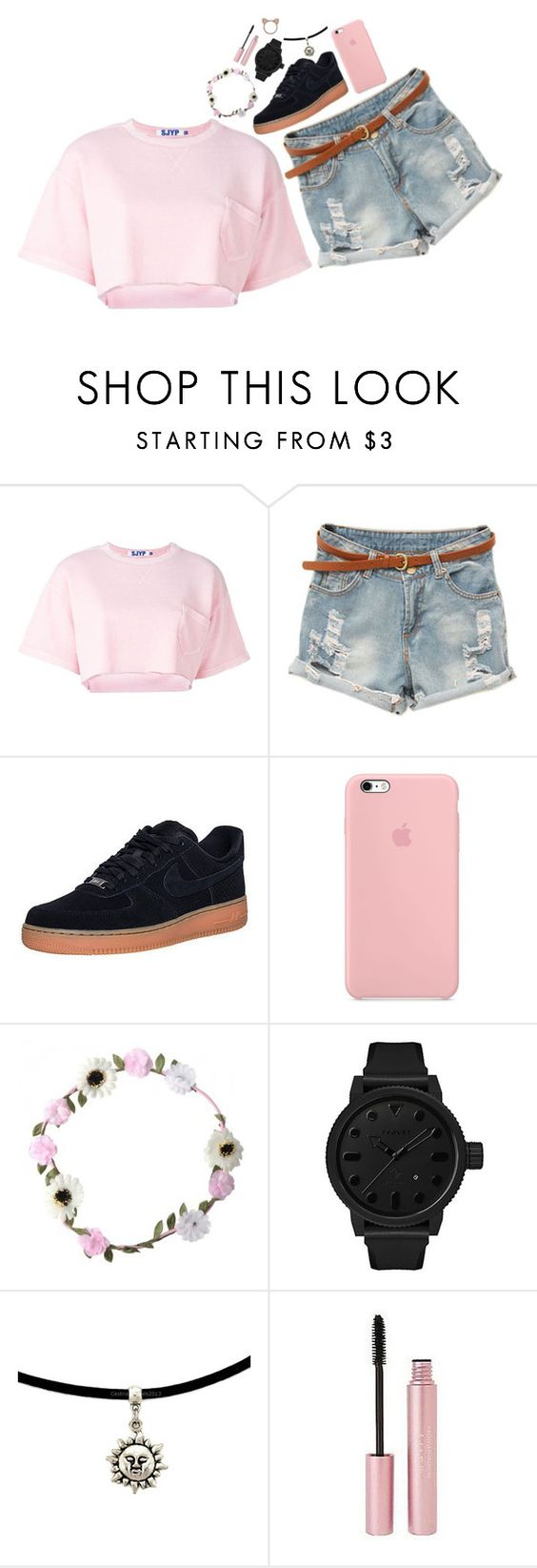 """Untitled #739"" by ema-kitty ❤ liked on Polyvore featuring Steve J & Yoni P, NIKE, Tsovet, Mally and Aamaya by priyanka"