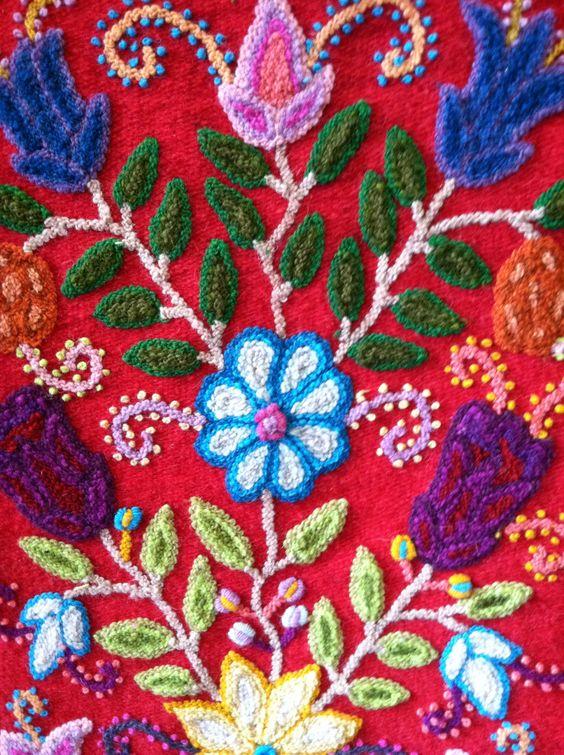 Peruvian embroidery pinterest