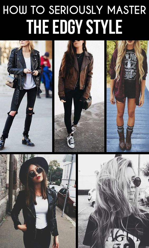 Edgy style, Masters and Style on Pinterest