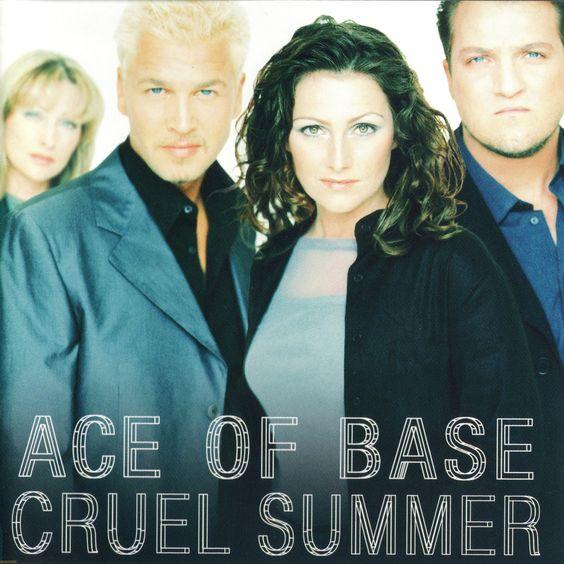 Ace of Base – Cruel Summer (single cover art)
