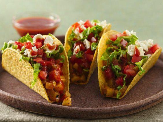 Potato Tacos - delish!!!