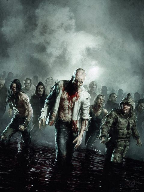 gallery for post apocalyptic zombie wallpaper