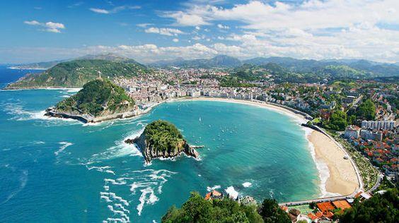 I absolutely love San Sebastian, Spain! Can't wait to go back!