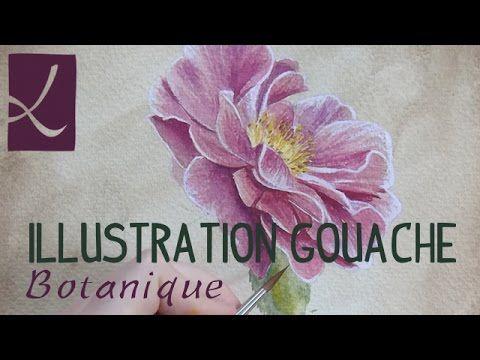 Démo illustration botanique à la gouache par l'Atelier de Louise - l'Atelier Géant