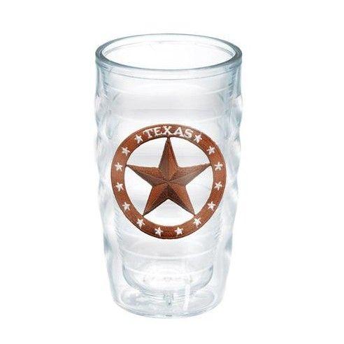 American Pride Texas Star 10 Oz. Wavy Tumbler