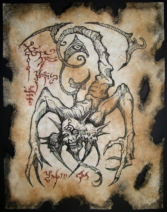 El Necronomicón,un libro salido de los infiernos 6305443604cf9d2efe6b584c6d1c9b30