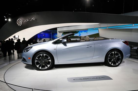 The cars of the 2015 Detroit Motor Show Buick Cascada