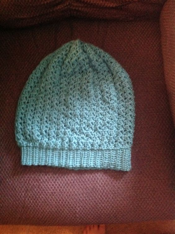 Slouch beanie for my sister