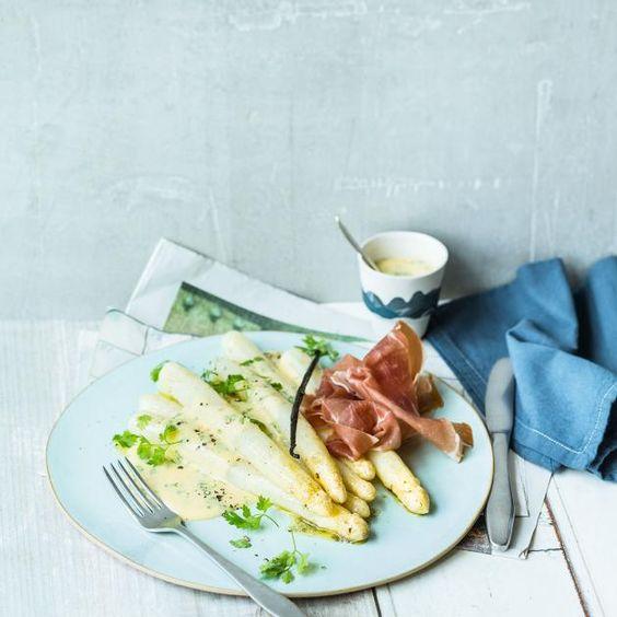 Weißer Spargel - Rezepte für Suppe, Salat und Beilage - [LIVING AT HOME]