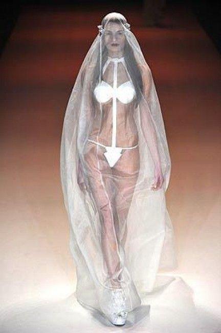 Vestido de novia excéntrico? extravagante? estrafalario ...