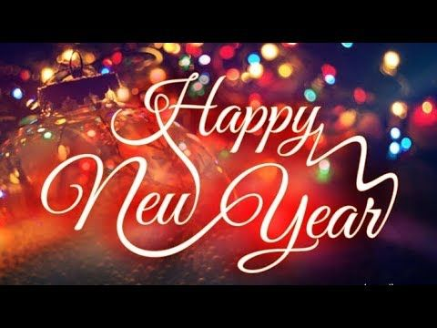 Happy New Year 2018 Wishes Animated Video Greeting Card For