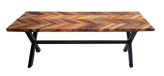 Zane Dining Table Recycled Wood