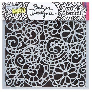Swirl Mixed Media Stencil