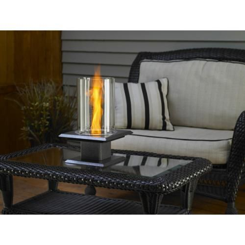 Fire pit venturi flame silver vein table top fire pits fire