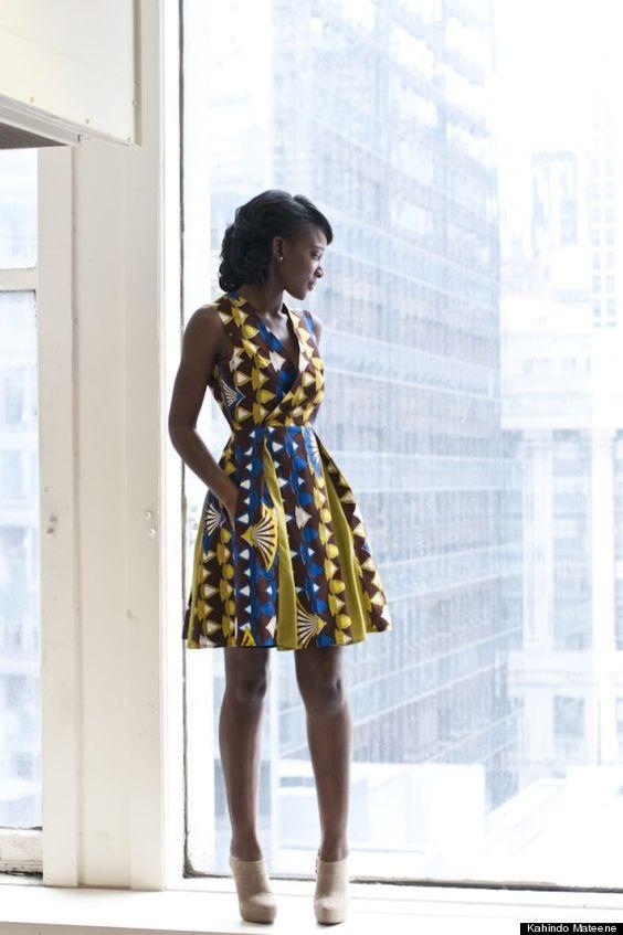 Kahindo Mateene, African fashion