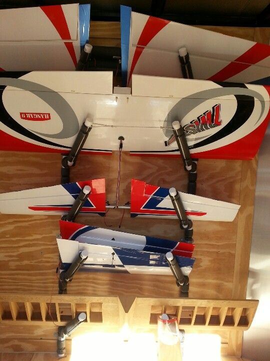 Inside My Airplane Trailer Rc Airplane Stuff Pinterest