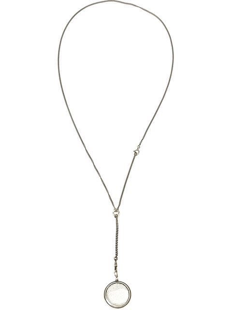 Shop Ann Demeulemeester Blanche pearl filled pendant necklace in L'Eclaireur from the world's best independent boutiques at farfetch.com. Shop 400 boutiques at one address.