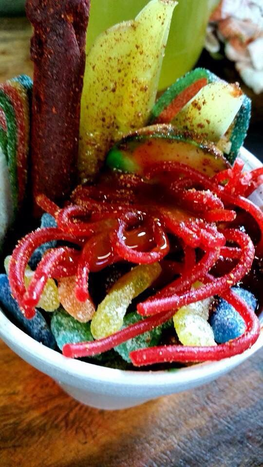 Chamoy | Fruit cups | Pinterest