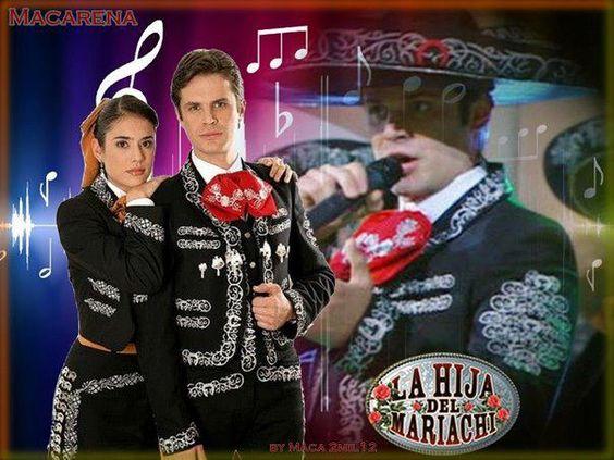 Mark Tacher y Carolina Ramírez en La Hija del Mariachi
