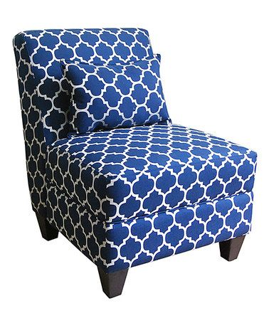 Look what I found on #zulily! Charlotte Accent Chair & Throw Pillow #zulilyfinds