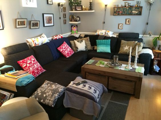 billig grå sofa