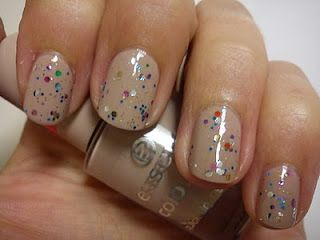 Wearing something just like this right now...but with more glitter :)