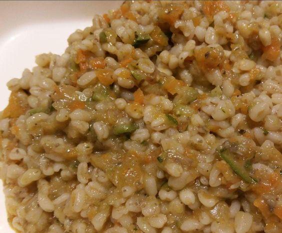 Recette Blé aux petits légumes par Auroremix - recette de la catégorie Accompagnements