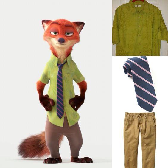 Disney Zootopia Nick Wilde wild outfit. #Disneybounding #disneybound #cosplay