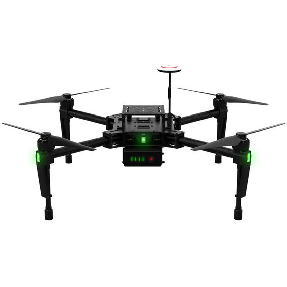 DJI Matrice 100 Quadcopter Guidance Drone for Developers | Special Drone for Drone Applications | 40 Minute Flight Time | N1 Flight Controller | 2 mile Reach
