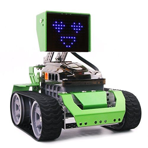 Robot Kit Toy Building Graphical Programming Qoopers Robotics Stem Education Arduino Robot Building Kit Stem Education Robots For Kids