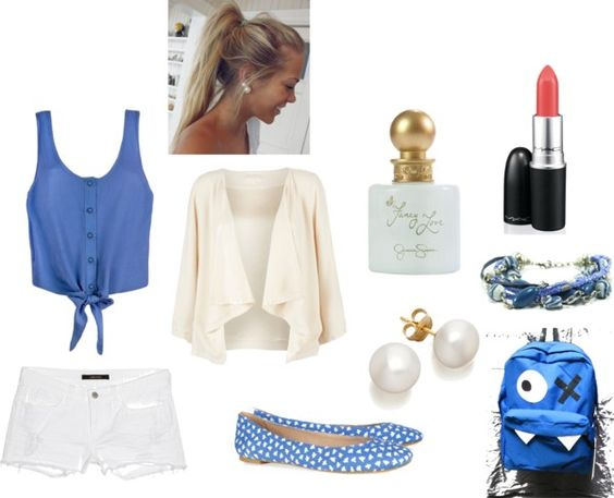 """""""first day of school outfit"""" by memoxx on Polyvore"""