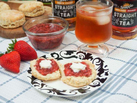 British scones (for an American 'cream tea') - Caroline's Cooking