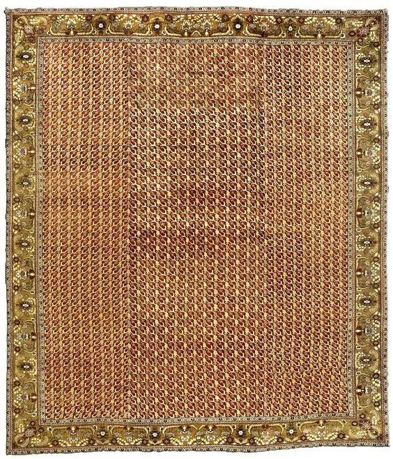 Antique Turkish Oushak Crimson And Golden Yellow Carpet Bb3331 By Dlb Wool Carpet Vintage Turkish Rugs Antique Oushak