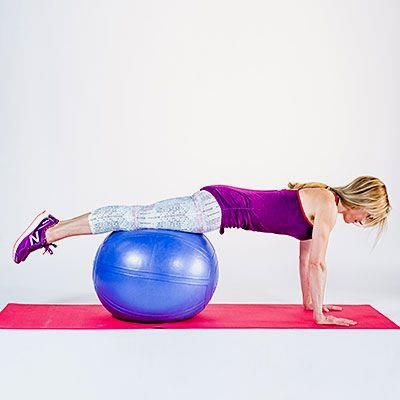 Plank on a ball: Ab   Plank on a ball: Ab workouts, from simple to killer, to help you flatten your belly, burn fat, and strengthen your core. |  Health.com
