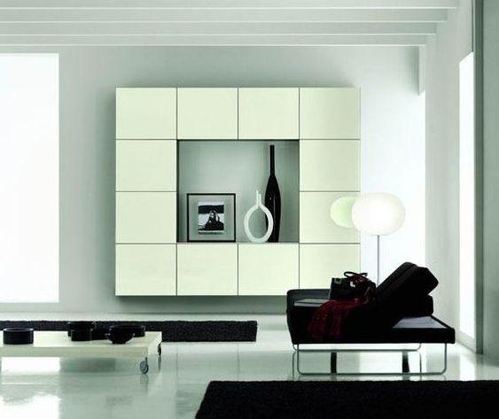 modern italian entertainment wall system besana | interesting, Attraktive mobel