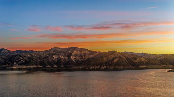 Lake Piru Sunrise by Jeff Turner on 500px