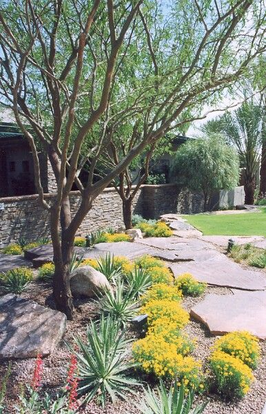Low maintenance front yard landscaping ideas hardscape for Basic backyard landscaping