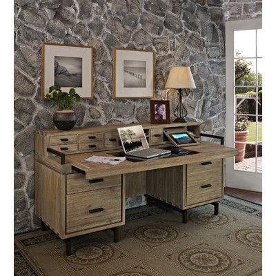 desk with hutch credenzas and desks on pinterest