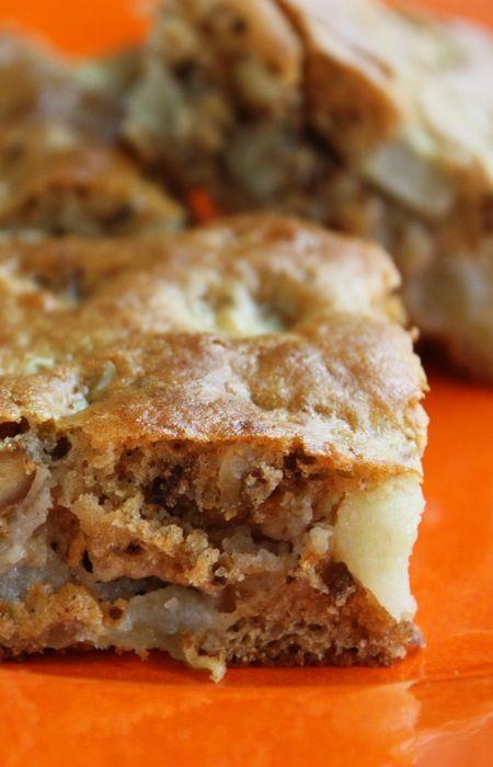 ... -Glazed Apple Brownies | Recipe | Apple Brownies, Apples and Brownies