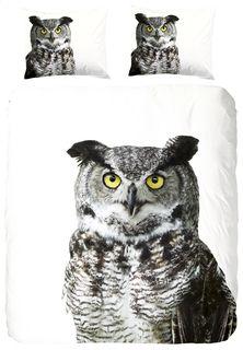 Dekbedovertrek Owl katoen 140 x 220 cm - Artikeldetail