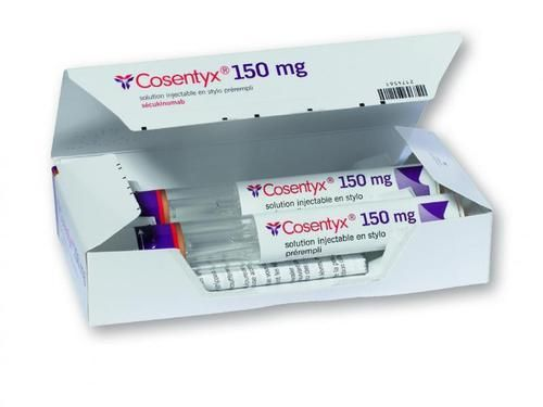 Cosentyx كوسنتيكس الإستخدامات الآثار الجانبية الآراء التركيب Takeout Container Container
