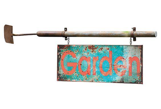 Garden Sign on OneKingsLane.com