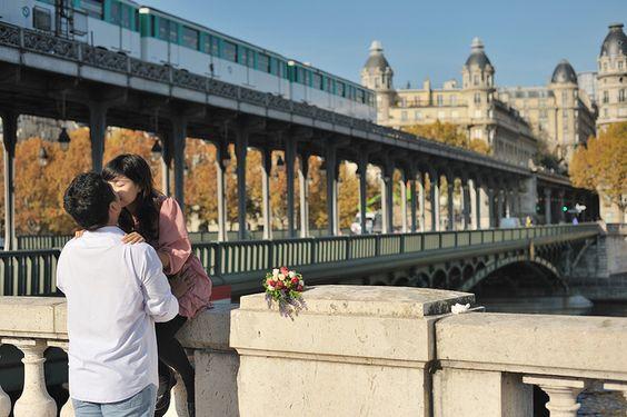 Love & Paris & Metro