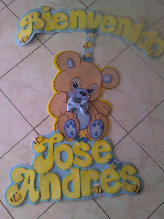 Letreros para decoracion baby shower ni o buscar con for Decoracion casa con ninos