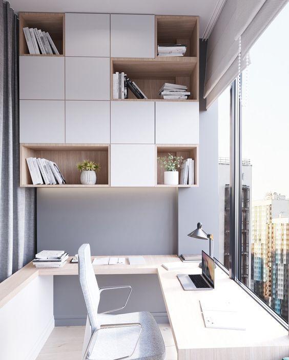 Balkon Çalışma Alanı Dekorasyon Fikirleri | Dubleks Ev Planları #Alanı #balkon #Çalışma #dekorasyon #dubleks #fikirleri #planlar #Planları