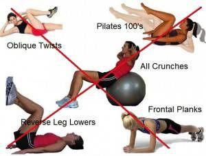 diastasis recti crunches and abdominal exercises on pinterest