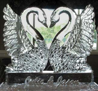 Wedding & Event Ice Sculptures Designs Boston MA - Don Chapelle
