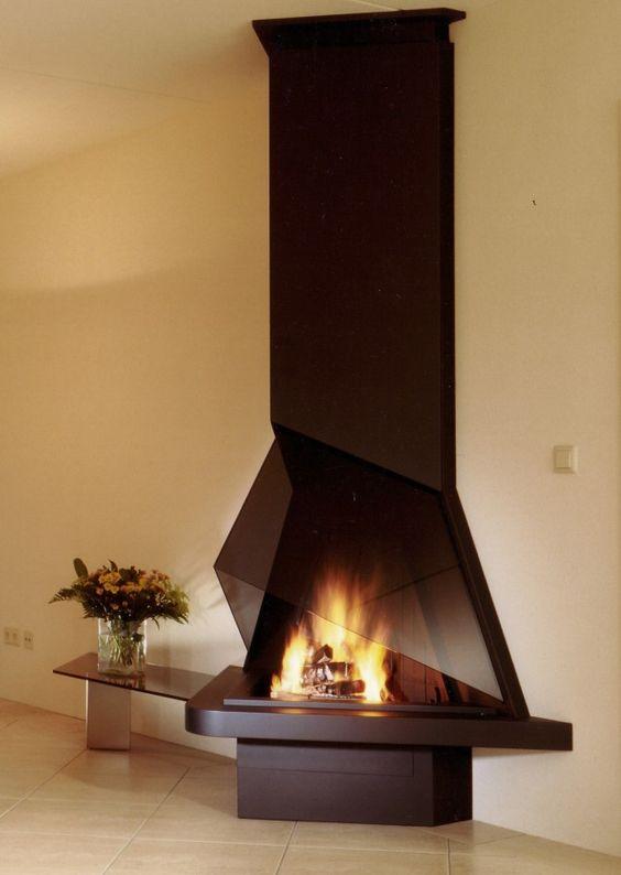 CV015  Modern Fireplace