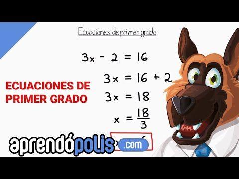 89 Ecuaciones De Primer Grado Facilísimo Especial Para Principiantes Youtube Primeros Grados Matemáticas Para Secundaria Ecuaciones